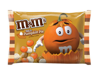 New White Pumpkin Pie M&M's Have Arrived
