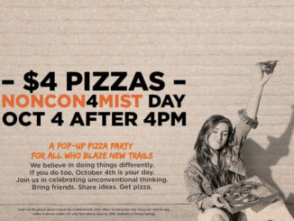 $4 Pizzas At Blaze Pizza After After 4pm On October 4, 2017