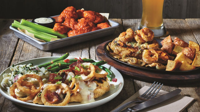 Applebee's Refreshes 2 for $20 Value Menu With Three New Entrees