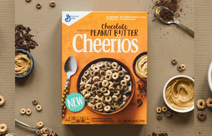 Chocolate Peanut Butter Cheerios Hitting Shelves In October 2017