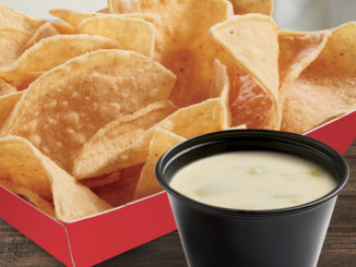 Free Queso Blanco And Chips With Any Purchase At Del Taco Through September 28, 2017