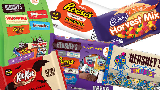 Hershey's Reveals 2017 Halloween Candy Lineup