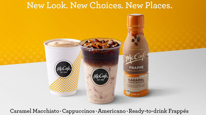 McDonald's Unveils New McCafé Espresso Flavors, Bottled Frappe Drinks