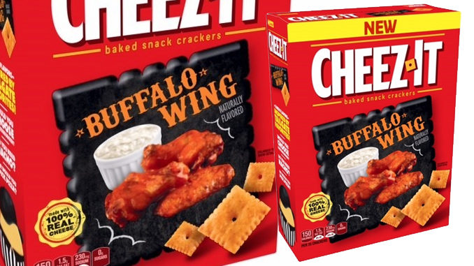 New Buffalo Wing Cheez-It Flavor Available Only At Walmart