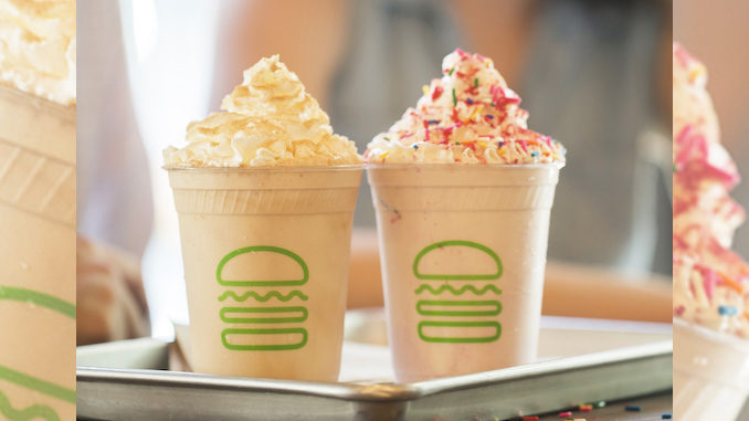 Shake Shack Spins New Will & Grace-Themed Shakes At Select Locations