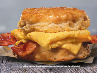 $1.69 Bacon, Egg & Cheese Biscuit Deal At Hardee's