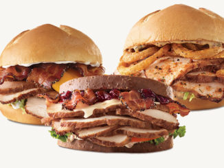 Arby's Introduces New Deep Fried Turkey Sandwiches