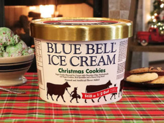 Blue bell adds new ice cream cone flavor chew boom for Where can i find blue bell christmas cookie ice cream