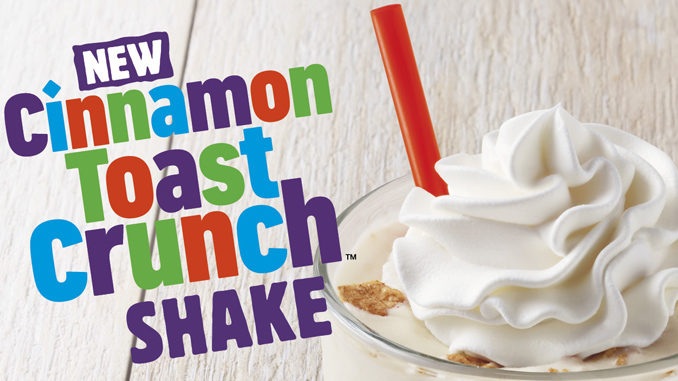 Burger King Introduces New Cinnamon Toast Crunch Shake