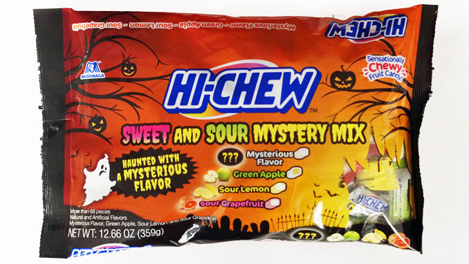 Hi-Chew Unveils New Halloween Sweet & Sour Mystery Mix Bag