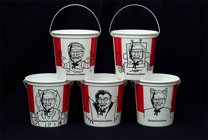 KFC Trick-or-Treat Buckets