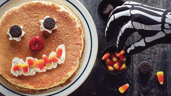 Kids Get Free Scary Face Pancakes At IHOP On October 31, 2017
