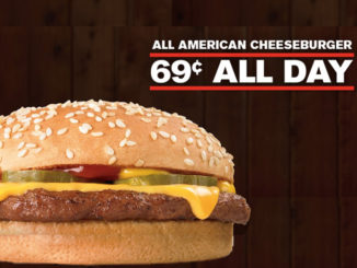 69-Cent Cheeseburgers At Checkers And Rally's On November 30, 2017