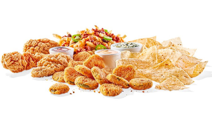 Buffalo Wild Wings Serves New All Star Sampler