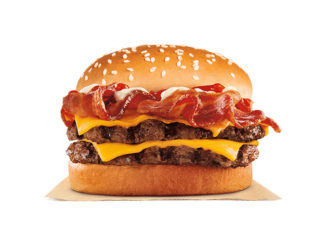 Burger King Introduces New Bacon King Jr. Sandwich