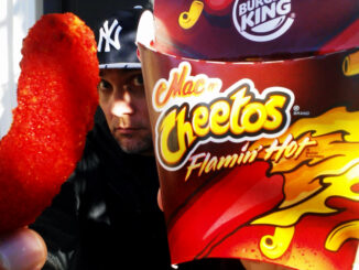 Burger King Spotted Serving New Flamin' Hot Mac N' Cheetos