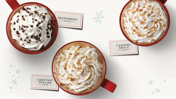 Buy One Starbucks Holiday Drink, Get One Free From November 9-13, 2017 (2 to 5 PM)