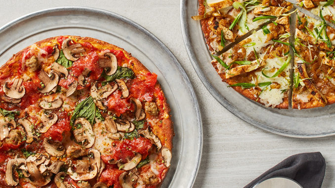 California Pizza Kitchen Unveils New Cauliflower Pizza Crust