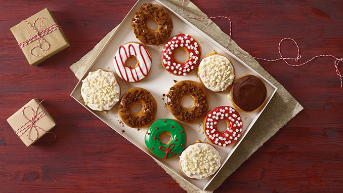 Dunkin' Donuts Unveils 2017 Holiday Menu Featuring New Cookie-Flavored Donuts