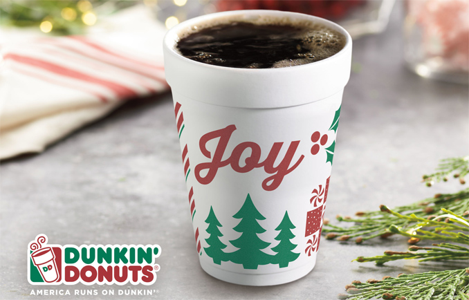 Dunkin' Donuts 2017 Joy Cup