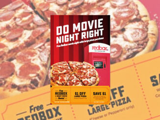 Large Pizza, Soda And Redbox Movie Night For $7 At 7-Eleven