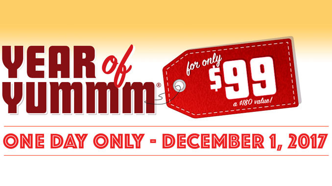Red Robin Is Selling 12 Months' Worth Of Burgers For $99 On December 1, 2017