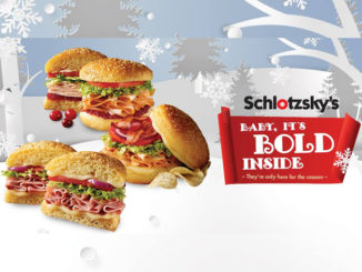 Schlotzsky's Introduces New 'Baby, It's Bold Inside' 2017 Holiday Sandwich Lineup