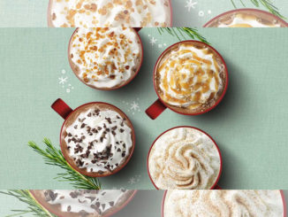 Starbucks Unveils New Toffee Almondmilk Hot Chocolate For The 2017 Holiday Season