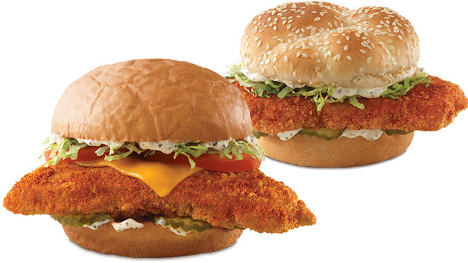 Arby s introduces two new nashville hot fish sandwiches for Arby s fish sandwich 2017
