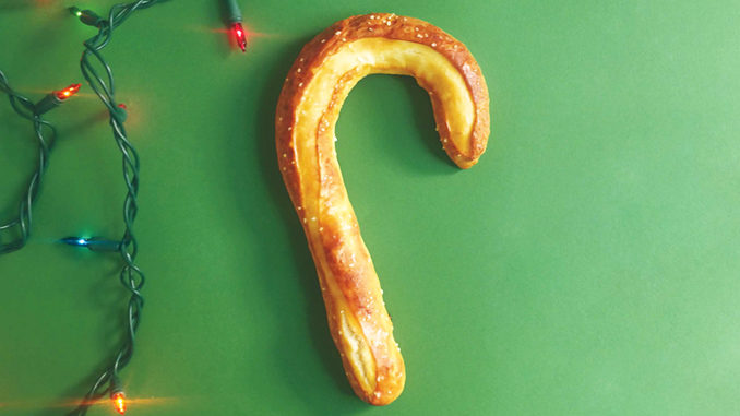 Auntie Anne's Bakes Up New Candy Cane Pretzels