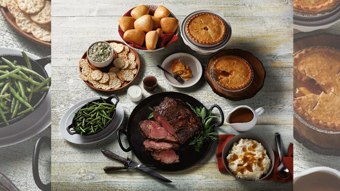 Boston Market Offers New Prime Rib Meal For 12 Through January 1, 2018
