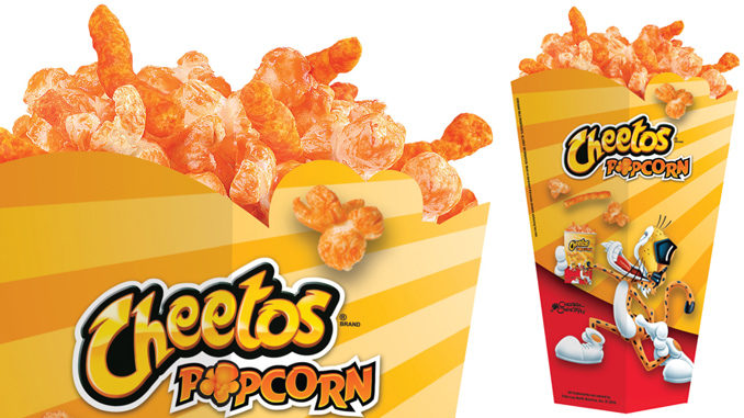 Cheetos Popcorn Coming To A Regal Cinema Near You On December 15, 2107