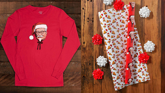 KFC Launches New Limited-Edition Swag For 2017 Holiday Shoppers
