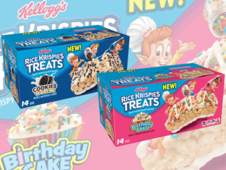 Kellogg's Introduces New Birthday Cake And Cookies 'n' Creme Rice Krispies Treats