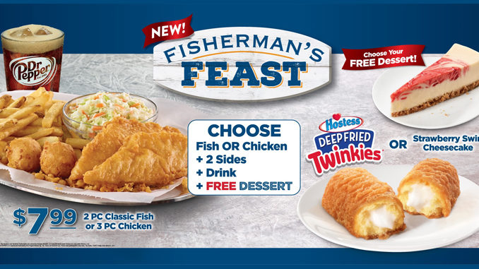 Long John Silver's Launches New $7.99 Fisherman's Feast Combo