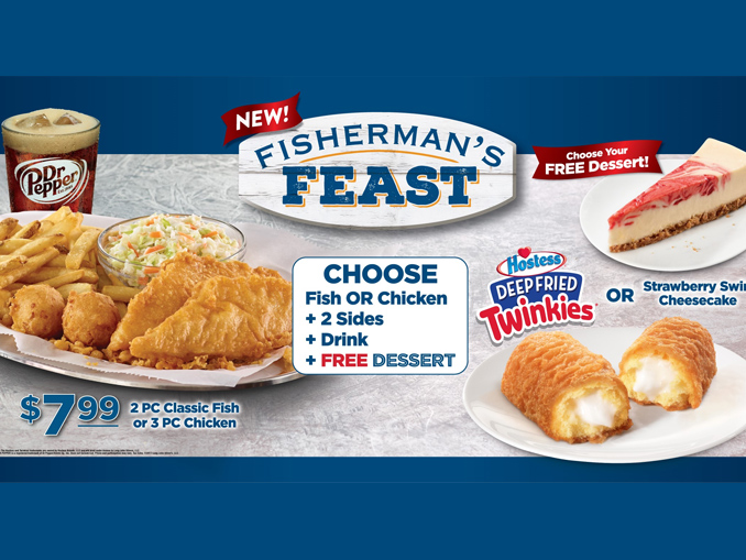 Long John Silver's Launches New $7.99 Fisherman's Feast ... $7 Chicken Classic
