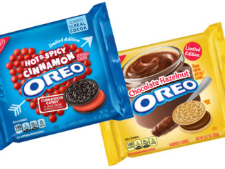 New Spicy Hot Cinnamon Oreos And Chocolate Hazelnut Oreos Coming On January 1, 2018
