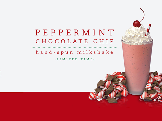 Peppermint Chocolate Chip Milkshake Returns To Chick Fil A