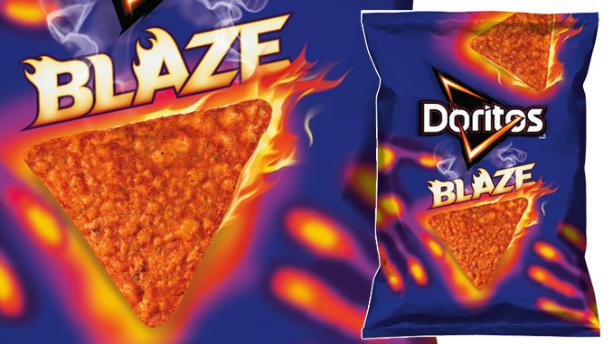 Doritos Debuts New Blaze Chips
