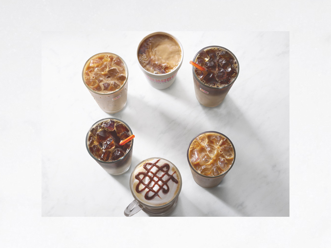 Dunkin Donuts Launches New Buttery Toffee Nut And Winter