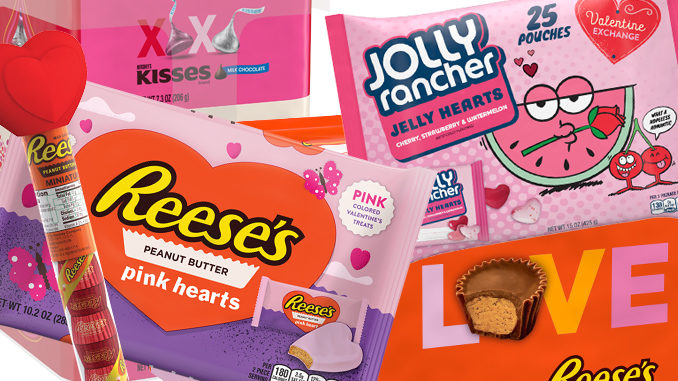 Hershey's Unveils New 2018 Valentine's Day Treats Lineup