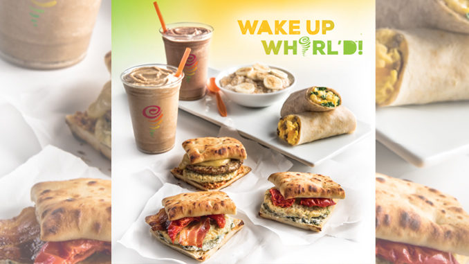 Jamba Juice Launches 3 New Breakfast Sandwiches And Cold Brew Coffee Blends