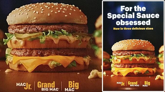 McDonald's Brings Back Mac Jr. and Grand Big Mac