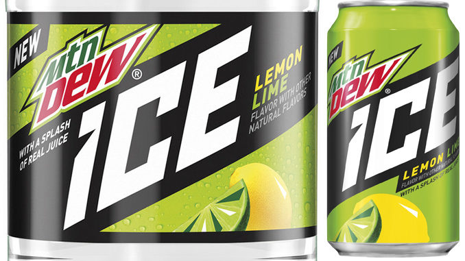 New Lemon-Lime Flavored Mountain Dew Ice Unveiled