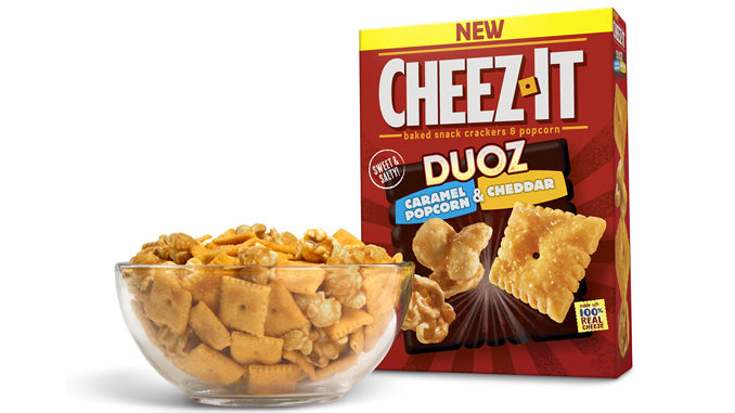 Cheez-It Introduces New Caramel Popcorn Duoz And Sharp Cheddar Pretzel Duoz