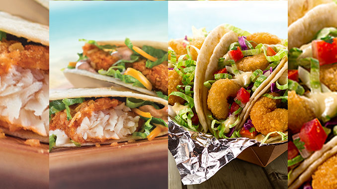 Crispy Fish Tacos And Popcorn Shrimp Street Tacos Are Back At Taco John's