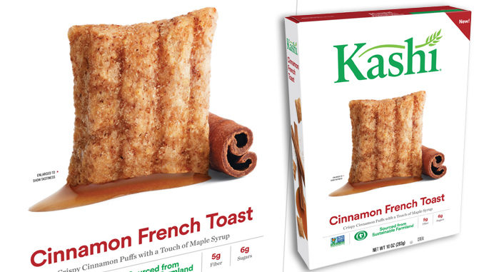 Kashi Introduces New Cinnamon French Toast Cereal