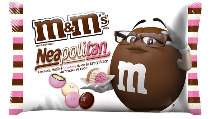 M&M's Launches New Neapolitan Ice Cream Flavor