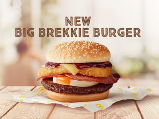McDonald's Is Selling A New Big Brekkie Burger In Australia
