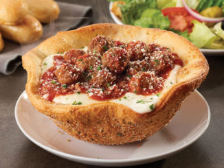 Olive Garden Bakes Up New Meatball Pizza Bowl